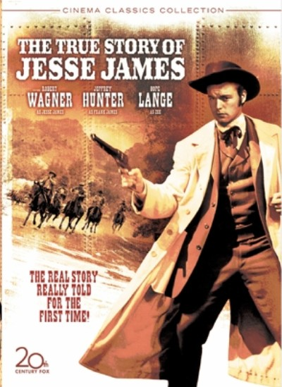 TRUE STORY OF JESSE JAMES BY WAGNER,ROBERT (DVD)